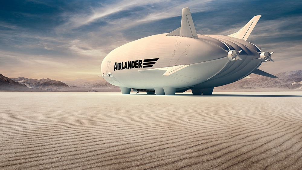 Airlander 10 Airship HAV Hybrid Air Vehicles