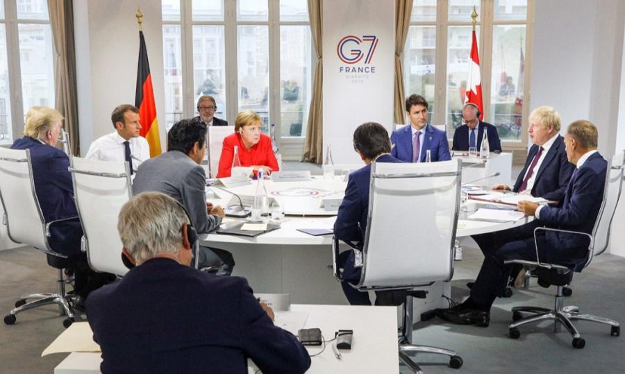 G7 Summit Global Minimum Corporate Tax